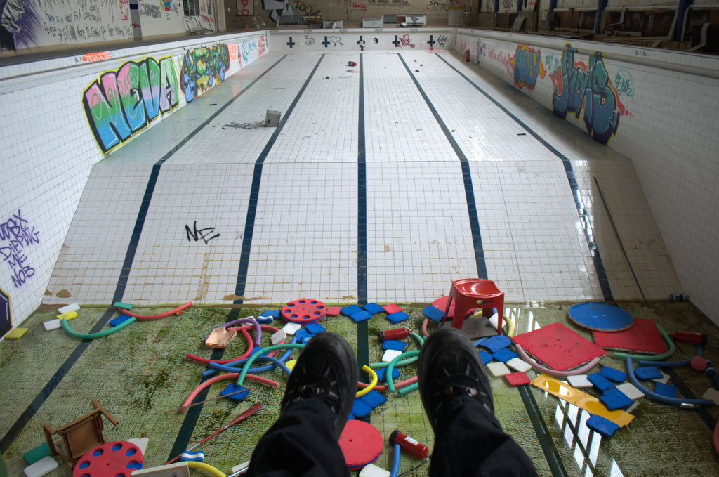 Wigston Swimming Pool May 2014